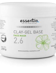 2.6 Baza masca de fata gel cu argila 200 gr