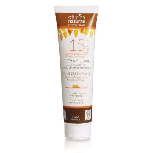 Crema bio protectie solara SPF 15 125 ml
