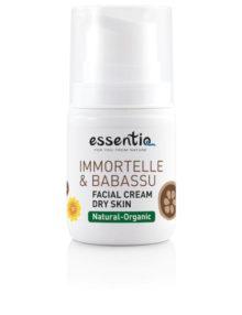 Crema de fata piele uscata Imortela & Babassu 50 ml Essentiq