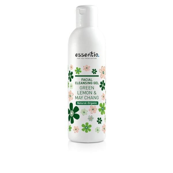 Gel de curatare faciala organic Lamaie verde & May Chang 200 ml