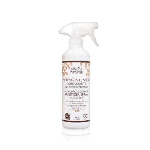 Solutie curatare suprafete multiple cu 66% alcool (spray) 500 ml