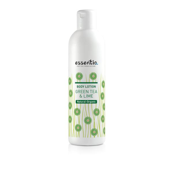 Lotiune de corp organica Ceai Verde & Lime 250 ml Essentiq